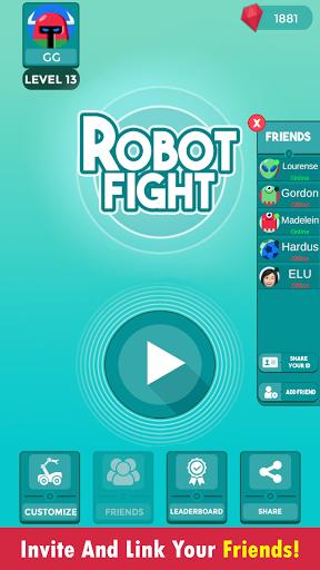Code Triche Robot Fight (Astuce) APK MOD screenshots 4
