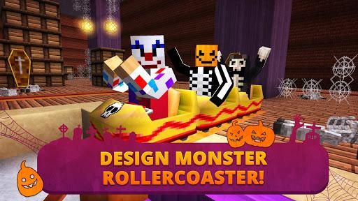 Scary Theme Park Craft: Spooky Horror Zombie Games 1.13-minApi19 Screenshots 2