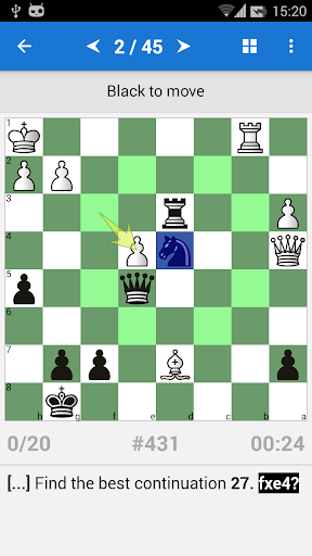 Chess Strategy & Tactics Vol 1 (1600-2000 ELO) 1.3.10 screenshots 1