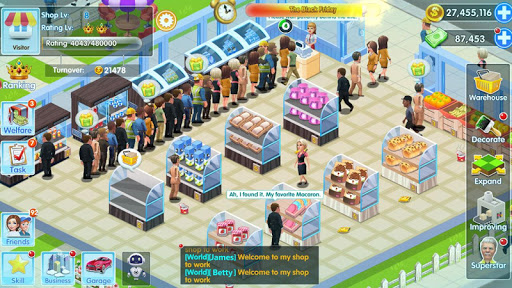 My Supermarket Story : Store tycoon Simulation 3.3.7 screenshots 12
