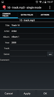 AudioTagger - Tag Music Screenshot