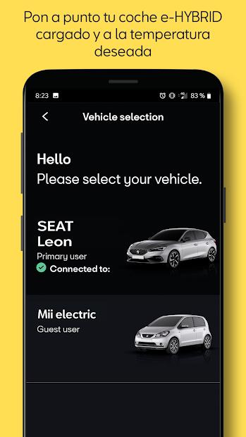Screenshot 7 de SEAT CONNECT App para android