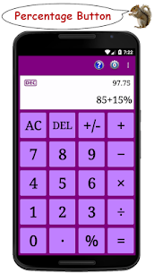 Standard Calculator (adfree) 1.2.2 Apk 5