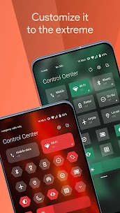 Mi Control Center Pro Mod Apk Notifications and Quick Actions 2