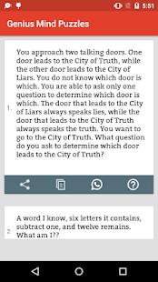 Brain Teaser : Riddles, Quiz & Puzzles