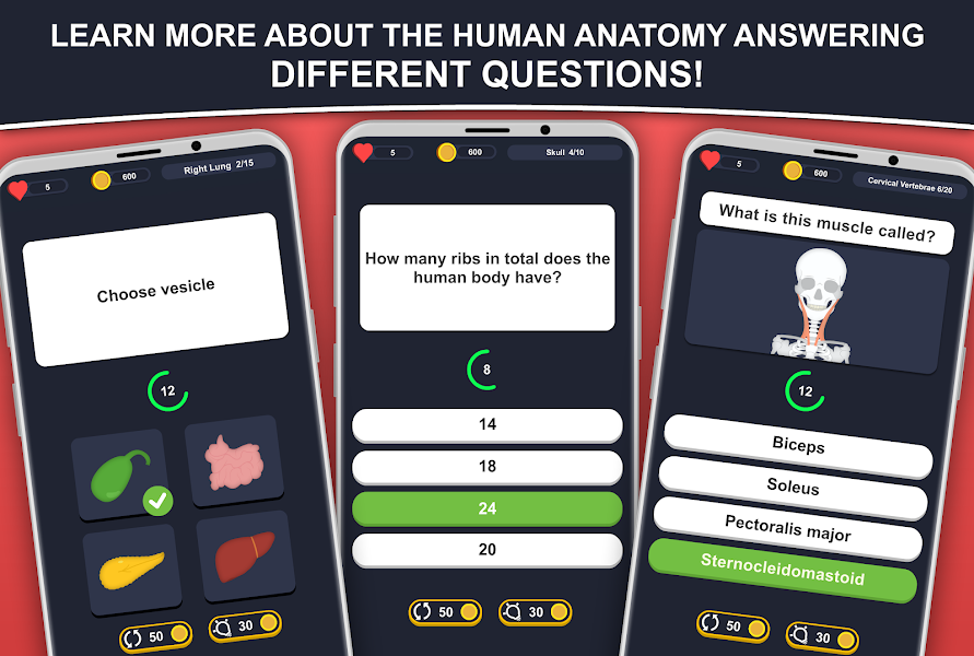 Anato Trivia -  Quiz on Human Anatomy