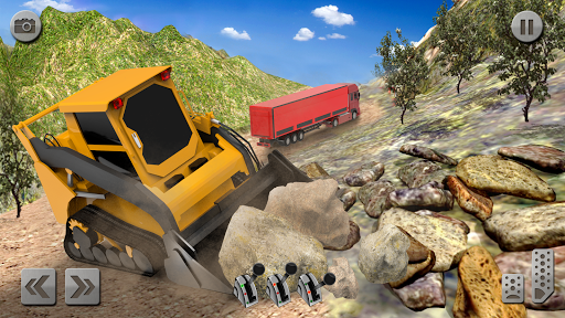 Sand Excavator Truck Driving Rescue Simulator game screenshots 4