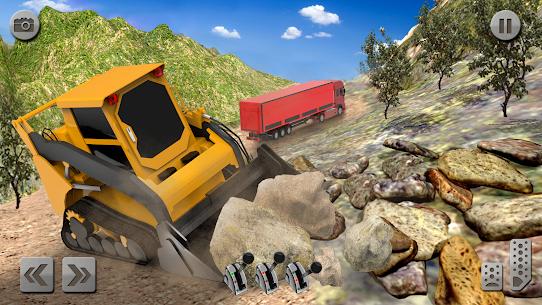Sand Excavator Simulator 2021: Truck Driving Games 4