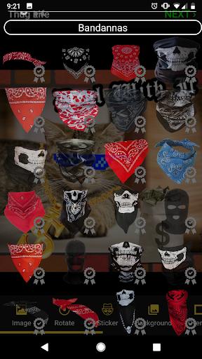Thug Life Stickers: Pics Editor, Photo Maker, Meme android2mod screenshots 4