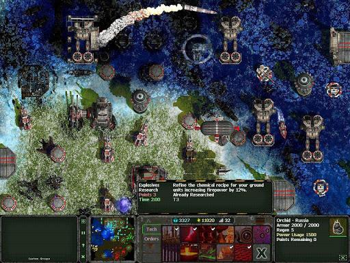 Land Air Sea Warfare RTS  screenshots 8
