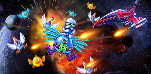 Screenshot of Chicken Shooter: Galaxy Attack New Game 2021
