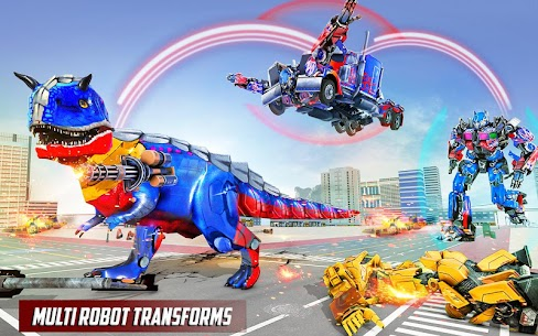 Police Truck Robot Game – Transforming Robot Games 7