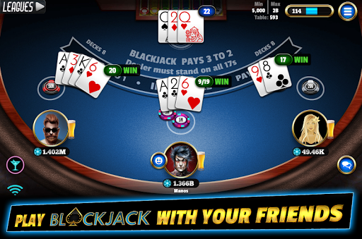 BlackJack 21 - Online Blackjack multiplayer casino 7.9.5 screenshots 1