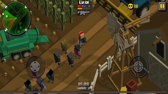 Pixel Zombie Frontier 6