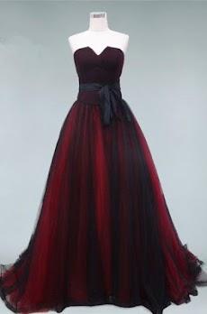 モダンなイブニングドレスのデザインのおすすめ画像1