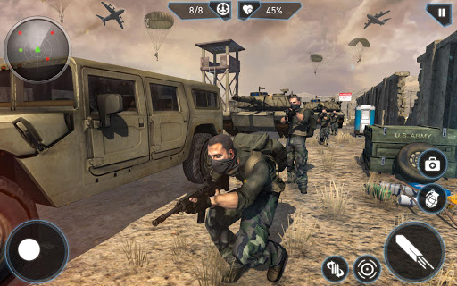 Modern FPS Combat Mission - Free Action Games 2021 2.9.0 screenshots 3