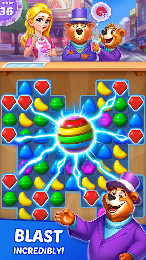Candy Puzzlejoy - Match 3 Games Offline  screenshots 3