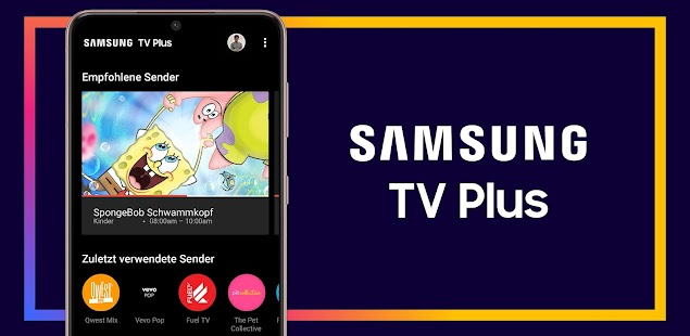 Samsung TV Plus: 100% kostenlos TV. Screenshot