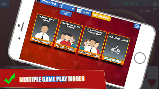 Call Break Card Game -Online Multiplayer Callbreak  Screenshots 13