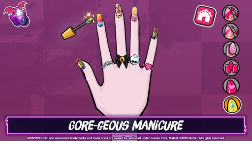 Monster Highu2122 Beauty Shop: Fangtastic Fashion Game  Screenshots 8