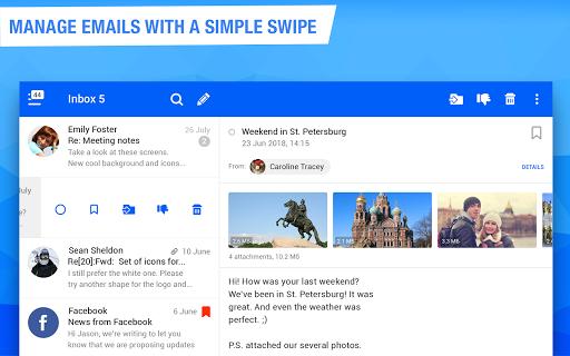 Mail.ru - Email App apktram screenshots 8