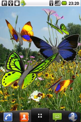 Butterfly animated color LWP! For PC Windows (7, 8, 10, 10X) & Mac Computer Image Number- 6