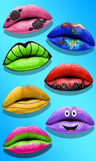 Lips Done! Satisfying 3D Lip Art ASMR Game apkmr screenshots 22