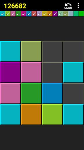 2048 colors puzzle screenshot 3