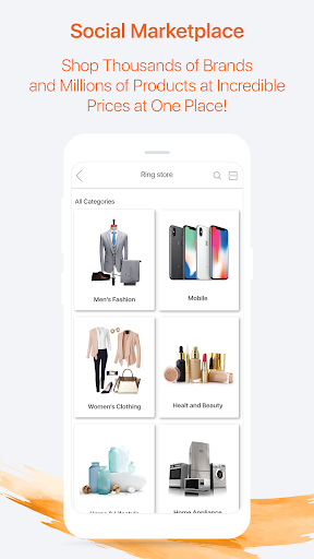 ringID- Live Stream, Live TV  and  Online Shopping 5.5.8 Screenshots 4