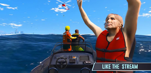 Screenshot of Real Helicopter Rescue Sim 3D - Helicopter Pilot