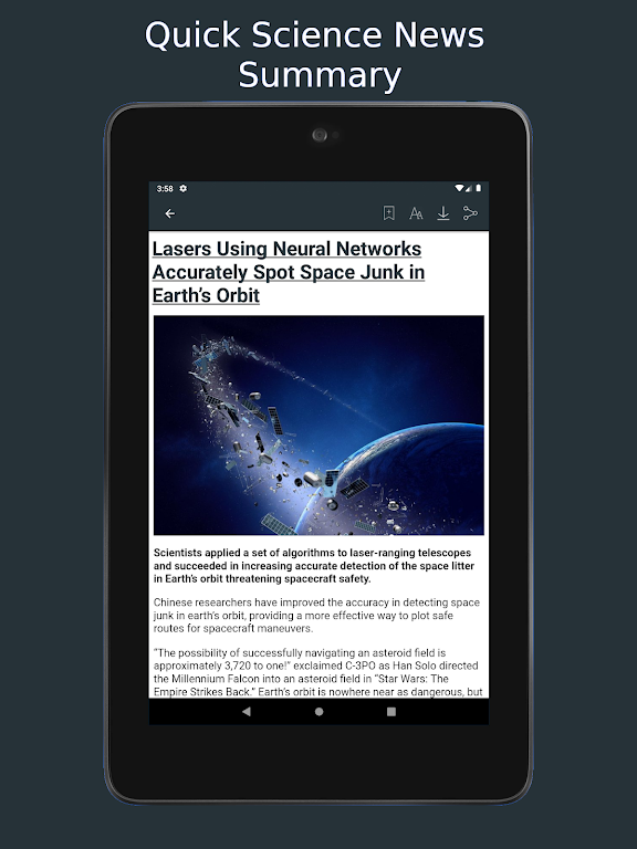 Science News Daily: Science Articles and News App  poster 17