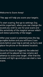 Scare Away – With Motion Detection Hack & Cheats Online 4