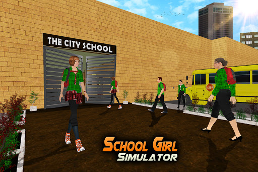 School Girl Simulator: High School Life Games 1.08 screenshots 1