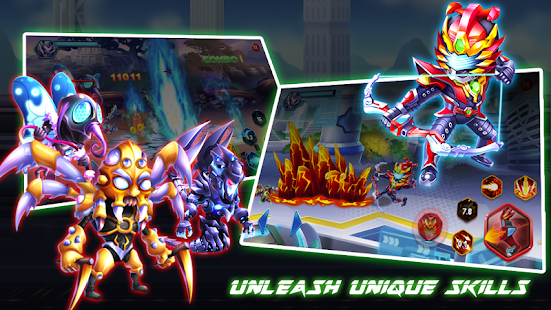 Superhero Armor: City War - Robot Fighting Premium Screenshot