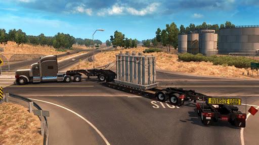 Euro Truck Boat Cargo Driving Simulator 2020  screenshots 10