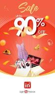 screenshot of LightInTheBox Online Shopping