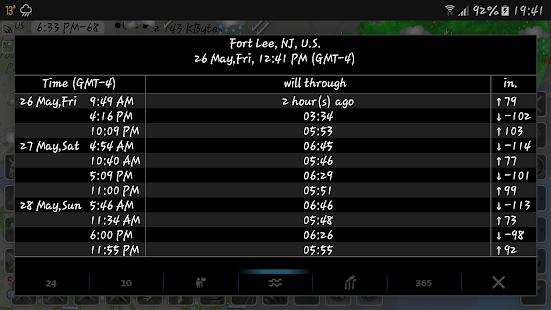 eMap HDF - weather, hurricanes and rain radar 2.2.8 Screenshots 14