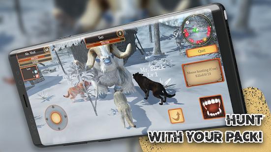 Wolf Simulator - Animal Games  screenshots 1