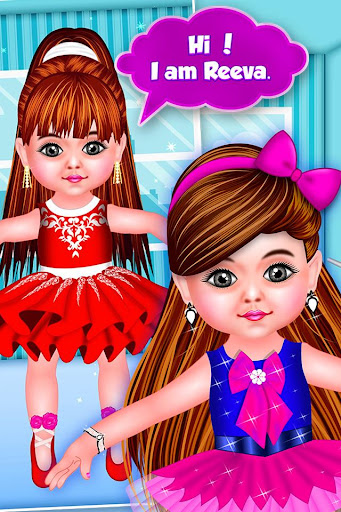 Baby Doll Ballerina Salon - Dance & Dress Up Game screenshots 3