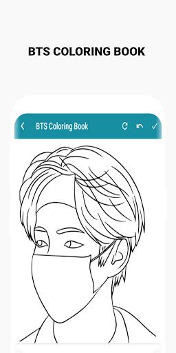BTS Coloring Book  Screenshots 5