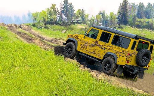 Offroad car driving:4x4 off-road rally legend game  screenshots 7