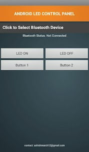 Arduino Bluetooth Control Panel For Pc (Windows And Mac) Download Now 1