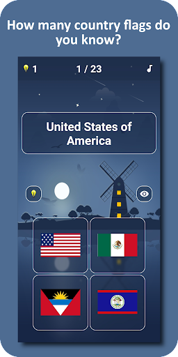 Country Flags and Capital Cities Quiz 2 1.0.22 screenshots 1