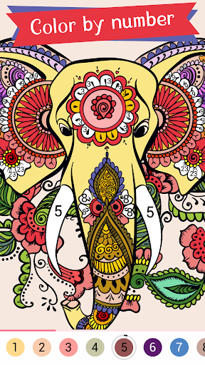 Paintist Plus - Coloring Book&Paint by Number  screenshots 1