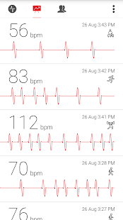 Cardiograph - Heart Rate Meter Screenshot