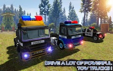 US Police Tow Truck Transport  Simulator Game 2019のおすすめ画像4