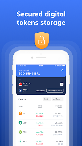 Coinhako - Crypto Wallet. Buy, Sell, Swap Bitcoin. 2.1.0 Screenshots 2