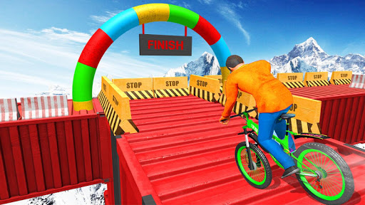 Fearless BMX Rider Games: Impossible Bicycle Stunt apktram screenshots 4