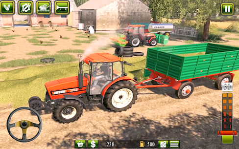 Free Real Farming  2021   Free Tractor Driving 4