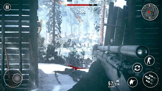 Call of Sniper Cold War: Special Ops Cover Strike Mod Apk (God Mode) 5